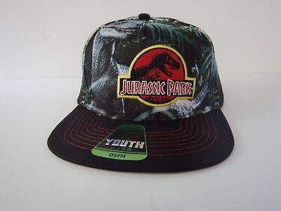Jurassic Park World Raptor Dinosaur T-REX Kids Boys Girls Youth Hat Adjustable - Dinosaur Hat