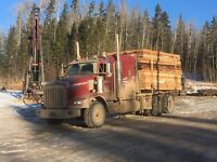 Winch truck/Low bed driver
