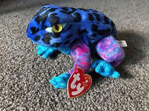 2e7aa25f64b TY beanie baby Dart the frog