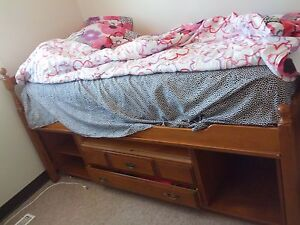 twin high bed