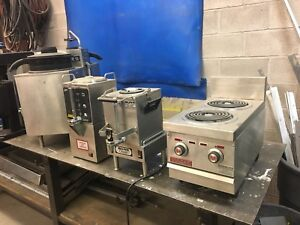 Commercial Restrauant equipment , coffee makers,  sinks,
