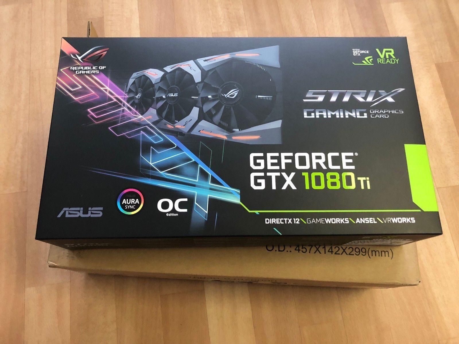 Scheda grafica GeForce GTX 1080 Ti 11GB