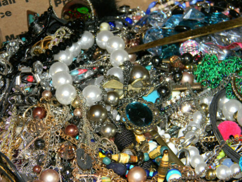 HUGE Costume Jewelry Lot Large FRB Sell Wear