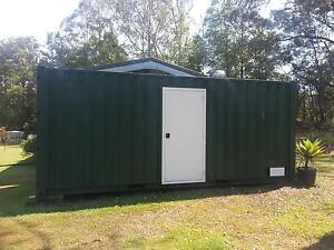 20ft Shipping Container with extras Peachester Caloundra Area Preview