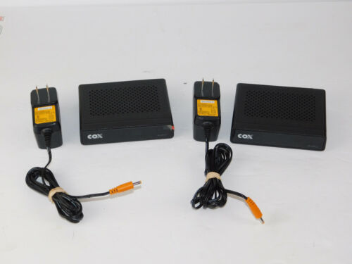 1 HD-uDTA-E Cox Mini Cable Box DMS2344UHDS W/ AC power Supply