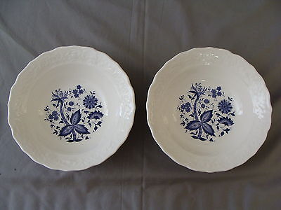 "2 Rare Vintage ""Blue Onion"" Design Serving Bowls on Rummage"