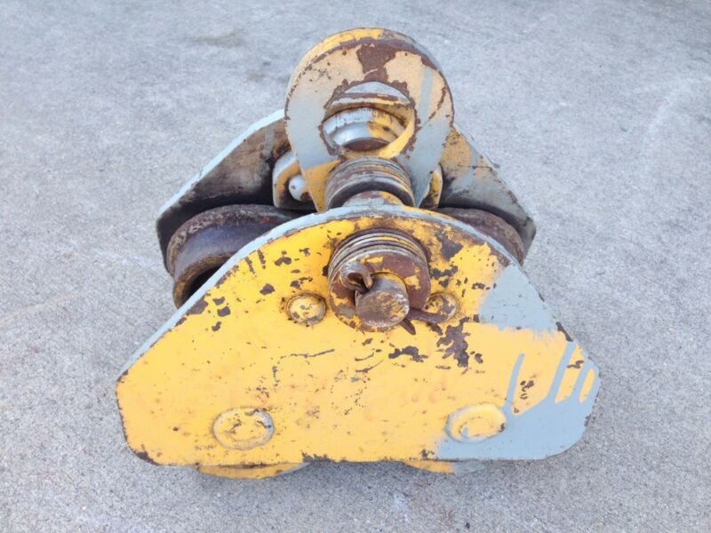 ACCO-Wright Roller Bearing Trolley 4 Ton  #3913