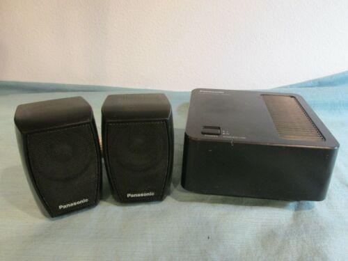 Panasonic Wireless Surround Sound Speaker System SH-FX71 Receiver w Speakers