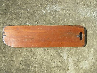 32 INCH X 8+5/8 INCH WOOD CENTER BOARD RUDDER SAIL BOAT SHIP  (#1311)