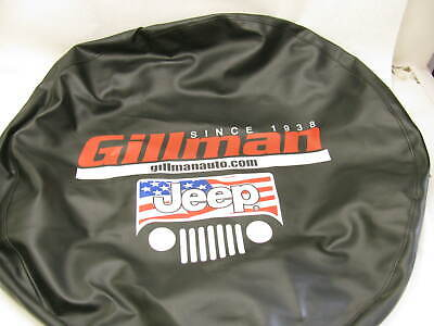JEEP GRILLE Spare TIre Cover  Vinyl For Various Jeep Wrangler Liberty  USED