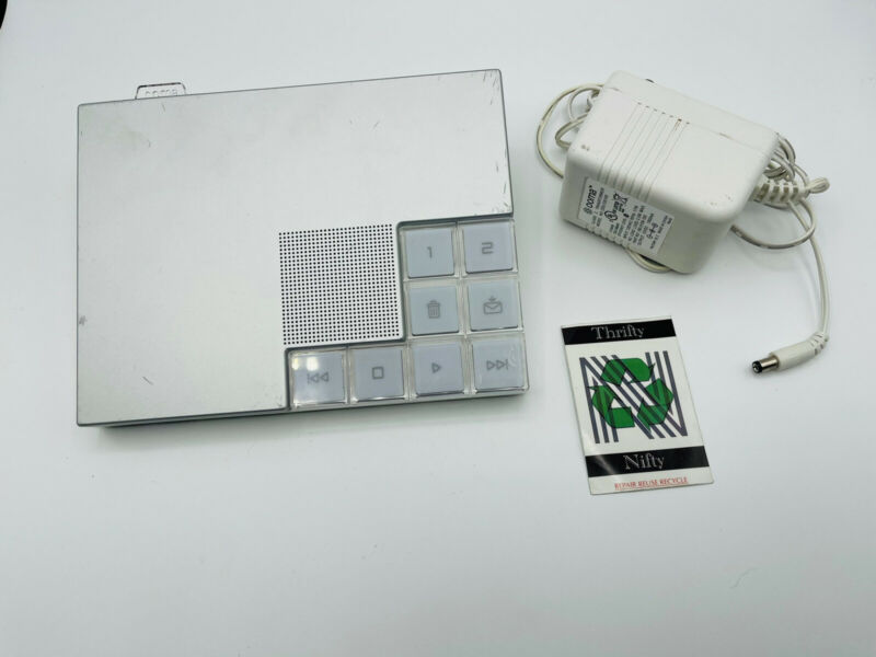 Ooma hub VoIP Home Phone Service Hub 110-0100-307 White with AC Adapter