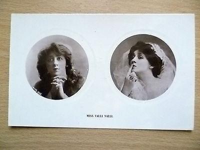 1900s Postcard- Actress MISS VALLI VALLI, No.610