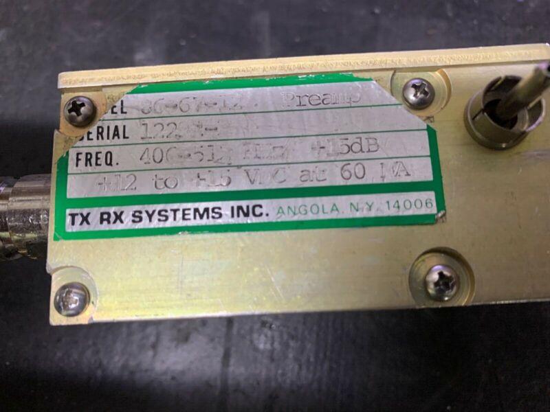UHF TX RX Systems Pre amp