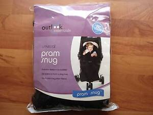 **Exc Condition** Outlook Essentials Universal Fit Pram Snug Murdoch Melville Area Preview
