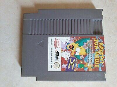 Nintendo NES Krusty's Fun House FRA simpsons