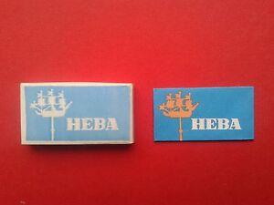 Vintage - Russian Razor Blade - HEBA - 10 pcs. - <span itemprop='availableAtOrFrom'>Skierbieszów, Polska</span> - Vintage - Russian Razor Blade - HEBA - 10 pcs. - Skierbieszów, Polska