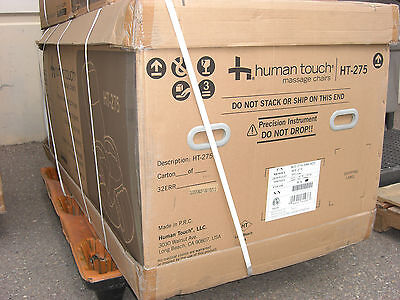 NEW in Box Black Human Touch HT-275 Robotic Power Massage Chair Recliner w/