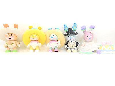 Uneeda Kidsview Tea Bunnies Lot Tea Party Bunny Accessories Clothes Hats + (15)