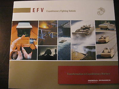 Expeditionary Fighting Vehicle Efv For The Usmc From Sea To Shore Data Sheet New