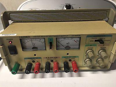 Tenma 72-4045a Triple Output Dc Power Supply 0-24 Vdc 0.5 A 5 Vdc 2 A
