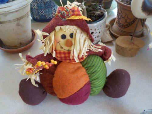 Scarecrow Doll Fall Autumn Decoration Halloween Thanksgiving Boy