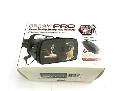 Tzumi Dream Vision Pro Virtual Reality VR Smartphone Headset Controller New