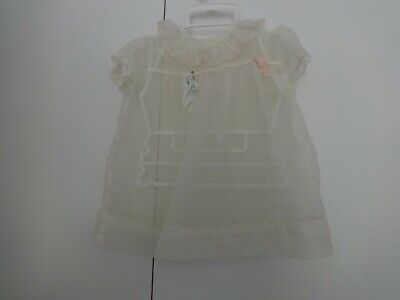 Vintage Sheer Dress Size 9 - 12 months