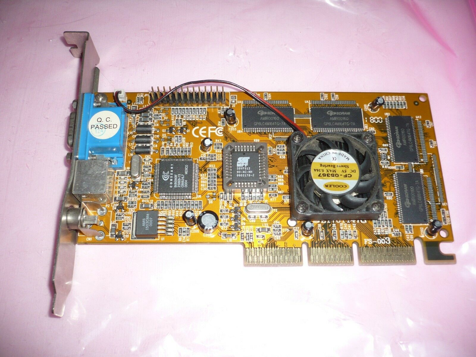 AGP video card va-235 32M sdram