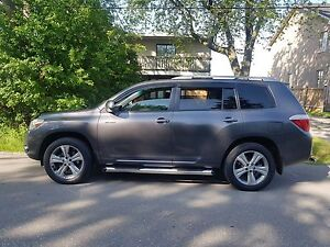 2008 Toyota Highlander SPORT 4WD LEATHER ROOF 7SEATER NICE SUV$1
