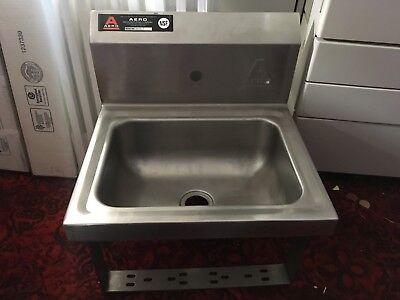 Aero Hand Restuarant Sink 14  Hsk-1 Knee Valve Stainless