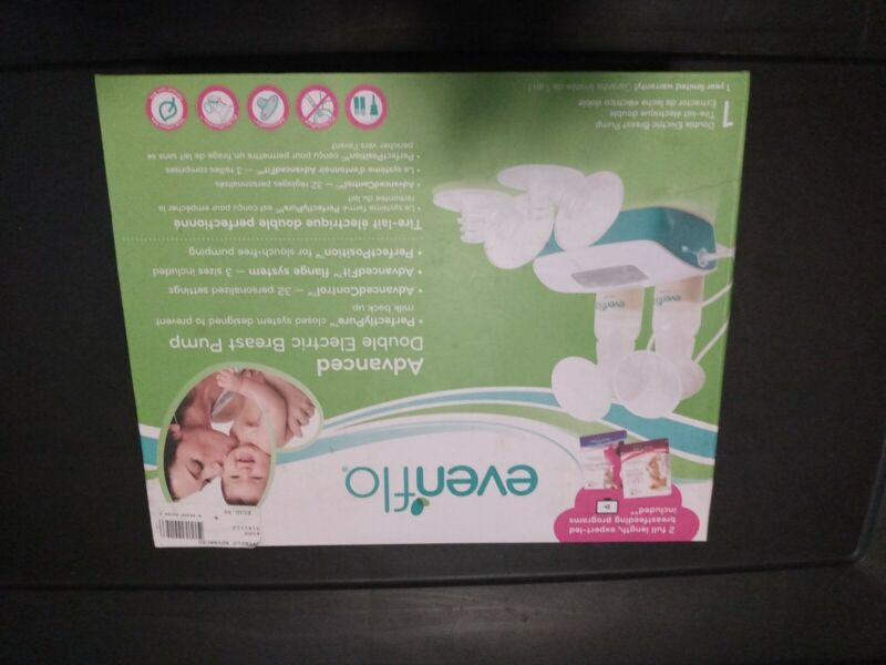 Evenflo Advanced Double Electric Breast Pump Factory Sealed BPA Free Model 2951