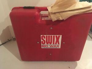 Professional ski wax kit