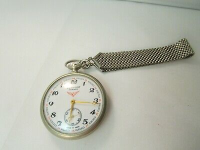 SERKISOF 18 Jewels Railroad Pocket Watch Mechanical Made in USSR DEMIRYOLU