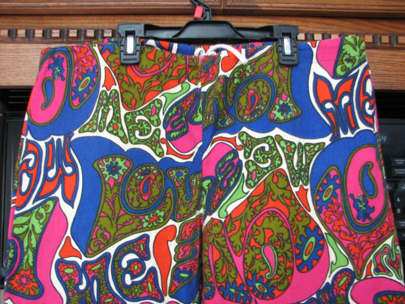 Psychedelic Love pants 1960