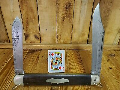 New York Knife Company MASSIVE Salesman Sample knife Ebony RARE Antique