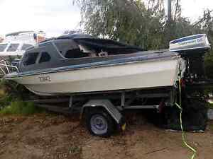 15foot boat and trailer unlicensed needs finishing Cooloongup Rockingham Area Preview