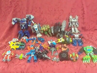 Large lot of rare 90s - 00s transformer insecticons rid gift vtg collection deco