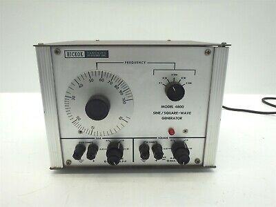 Hickok Model 4800 Sine Square Wave Generator