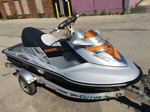 Mint Condition 2008 Sea Doo RXTX 255 With Trailer!