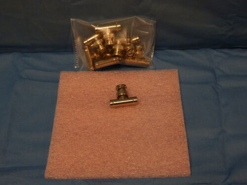 10 NEW BNC TEE Coaxial Adapters