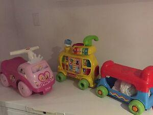 Petites voiturettes
