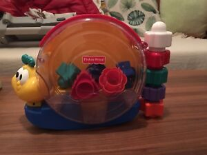 Fisher Price cube et forme