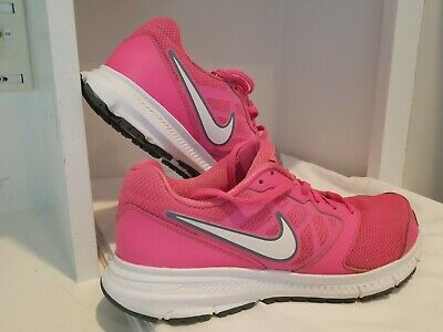 Nike Downshifter 6 Athletic Running Shoes Pink  Gray 684765- 601Womens Size 9