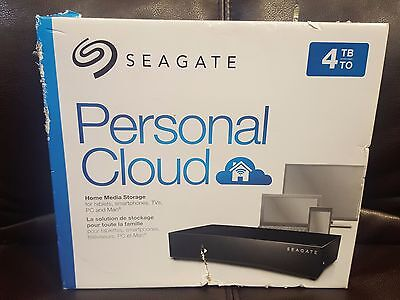 New Seagate Personal Cloud Home Media Storage Device 4TB NAS STCR4000101