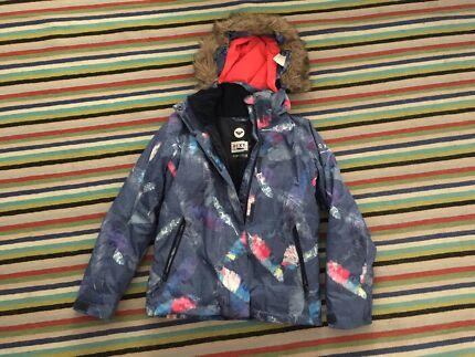 Girls Roxy snowboard ski jacket sz12
