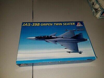 Italeri JAS-39B Gripen Twin Seater 1:72 Scale Model Kit 1216