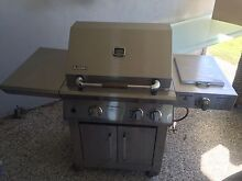 Stainless 2 burner BBQ Mango Hill Pine Rivers Area Preview