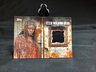 Walking Dead Season 6 Wardrobe Costume Rust Parallel Michonne Relic #66/99