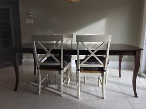 Dining Table and Chairs for $350