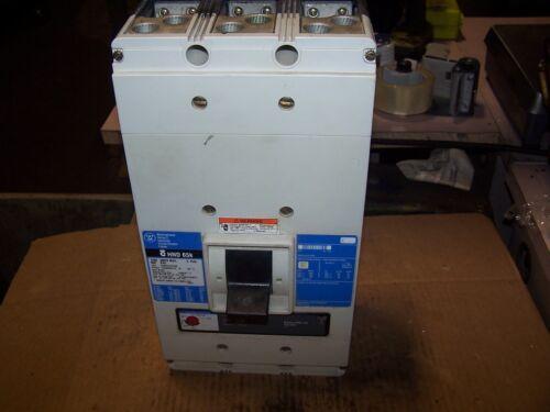 Westinghouse 1200 Amp Circuit Breaker 3p 600 Vac Hnd312t32w 12nes1200t